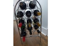 14 bottle lightweight wine rack