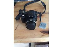 Canon Powershot sx500 camera with charger, spare battery and 2gig SD Card SOLD