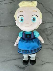 Disney Store Elsa Toddler Doll Plush