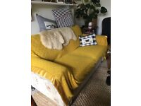 Sofa bed small double with supreme mattress vgc!