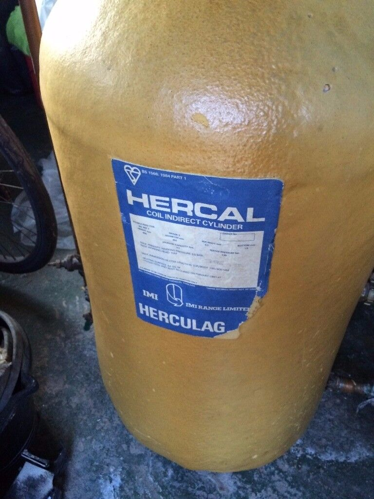 Hercal copper coil indirect water cylinder | in St George, Bristol ...