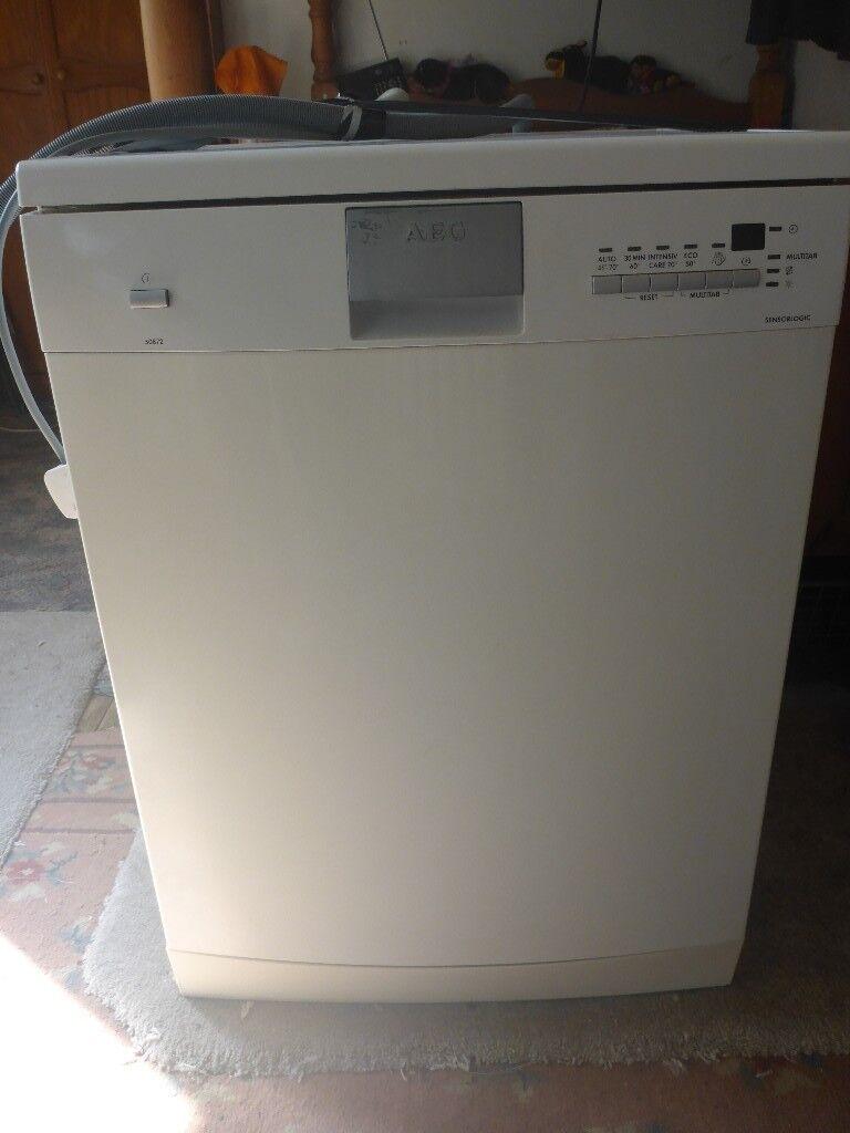 Aeg Sensorlogic Fullsize Dishwasher Hackney In
