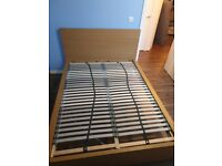 Double bed with 4 storage draws