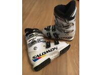 Solomon impact jr 70 youth ski boots mondo 24.5