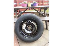 Corsa Spare Steel Wheel & Tyre 185/65R 15H