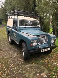 Land Rover series 3 (defender, jeep, off-road, diesel, classic)