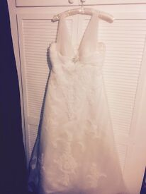 Ivory wedding dress size 16