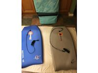2 x Large Body Boards and dedicated bag
