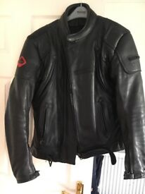 Frank Thomas Defender leather motorcycle jacket
