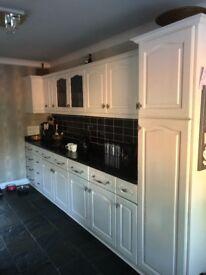 Bargain Solid Oak Kitchen and Granite Worktops