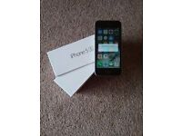 Apple Iphone 5s in slate grey. Spares or repair.