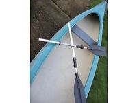 TWO SEATER CANADIAN CANOE GATZ YOHO 2