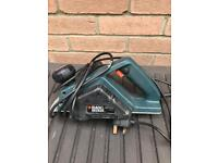 Electric planer