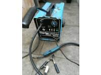 Clarke Turbo Weld 150 TE MIG Welder Fully Working NO GAS welding steel decent condition Cheap £120