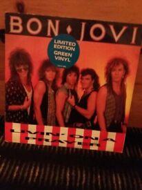 Bon jovi limited edition record living on a prayer