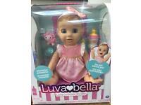 Luvabella doll brand new blonde