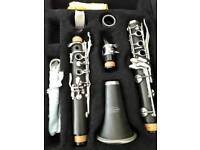 CHAS E FOOTE CLARINET WITH BAG