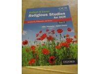 Oxford A level Text Book Religious Studies for OCR : Year 2