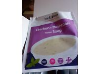7 x 1:1 Diet by Cambridge Weight Plan Soup Meal Replacements