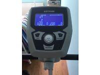 Upright Exercise bike, Kettler, brand new condition