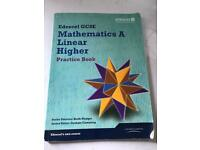 Edexcel GCSE mathematics A. Linear higher Practice book by Keith Pledger