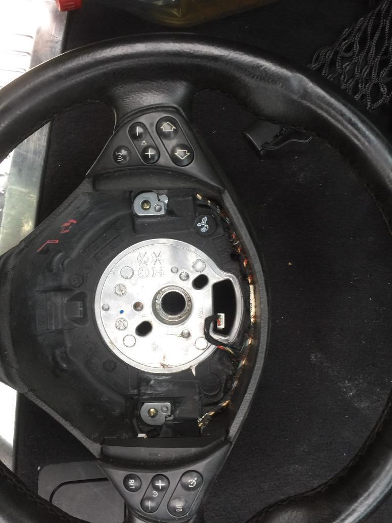 BMW 7 series e38 m sport steering wheel