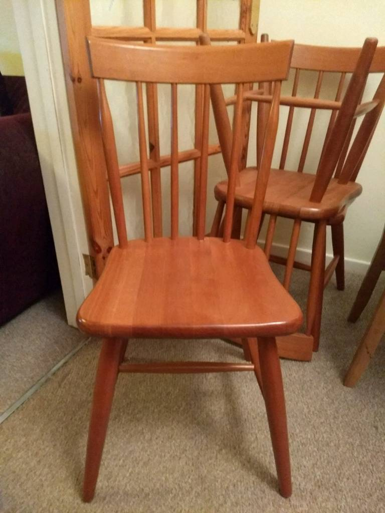 Oak dining chairs x 3 (£10 each or all 3 for £20)