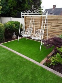 Metal Swing with Two Separate Seats