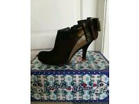 Irregular Choice Ankle Boots size 6