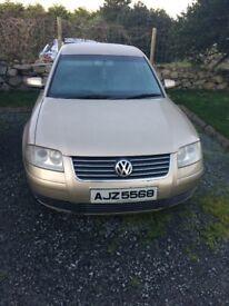 2001 Volkswagen Passat & 2000 Volkswagen Polo *Spares/Repair*