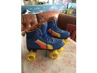 Retro style quad roller skates uk size 4 £64.9RRP