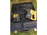 24 volt battery drill and charger and cary case
