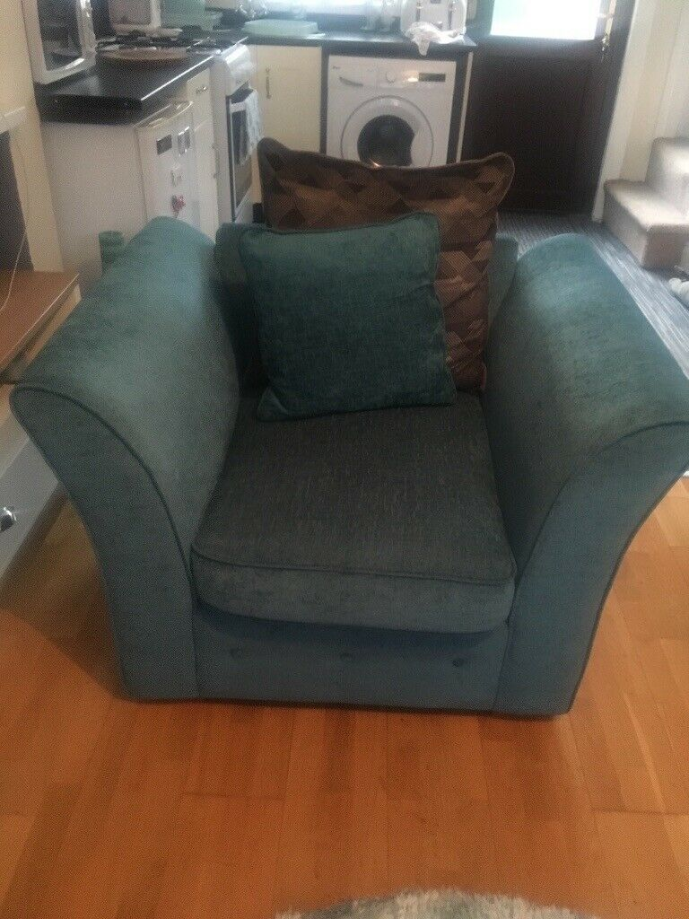 Teal Chair For Sale In Sheffield South Yorkshire Gumtree