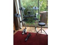 Electric drum kit good condition read description