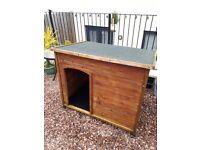 Dog kennel large timber