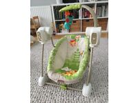 Fisher Price compact baby swing