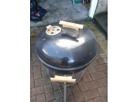 Used kettle style barbecue rather rusty but still in working order.