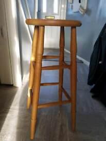🌞Wood chair ( stool)
