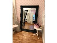 Large oversized ornate mirror Shabby chic