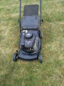 Xc35 Briggs+ stratton push lawnmower 17""
