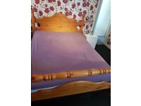 King size chunky bed frame