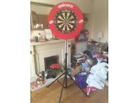 Complete portable darts set up