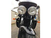 Triumph Speed Four (600 cc) 2004 Naked Motorbike - with Renntec Rack & GIVI top box (+ free helmet!)