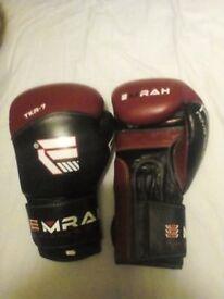 Emrah leather boxing gloves.