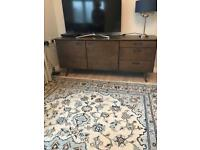 Laura Ashley ercol style sideboard/tv unit bargain as new quick sale