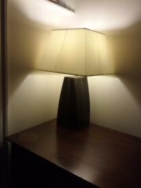 Real leather base lamp for sale