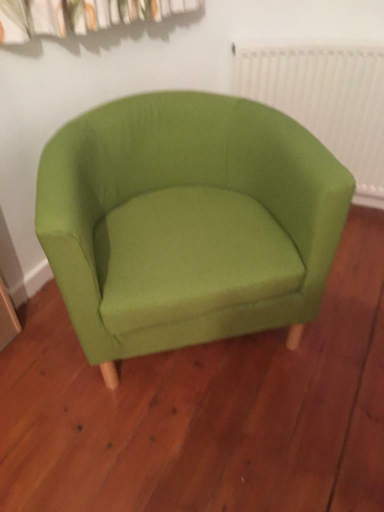 Ikea, small bedroom armchair | in Exmouth, Devon | Gumtree