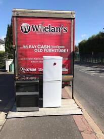 White Candy 50/50 fridge freezer £125 guaranteed working
