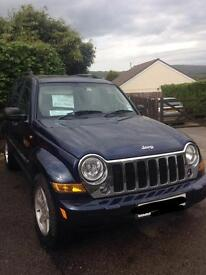 Jeep Cherokee automatic CRD Limited 2.8 deisel 2007