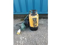 KOSHIN PONSTAR PB55011 SUBMERSIBLE WATER DRAINAGE PUMP 110v